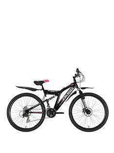 Boss Cycles Stealth Full Suspension Ladies Bike 18 inch Frame Best Price, Cheapest Prices