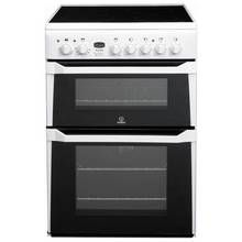 Indesit ID60C2 60cm Double Oven Electric Cooker - White