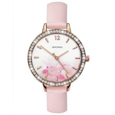 Sekonda Ladies Slimline Nude Strap Watch Best Price, Cheapest Prices