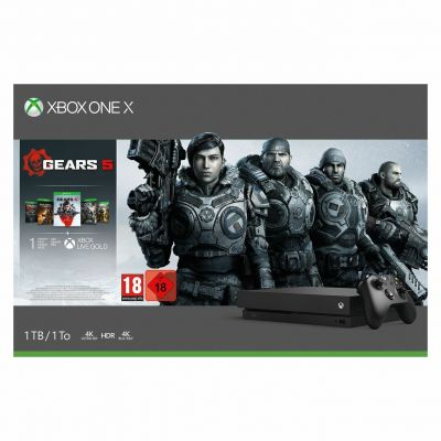 Xbox One X 1TB Console & Gears 5 Bundle Best Price, Cheapest Prices