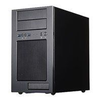Silverstone TJ08B-E Temjin Evolution, Black micro-ATX Advanced Mini Tower Case Aluminium/Steel with USB 3.0 w/o PSU ATX Best Price, Cheapest Prices