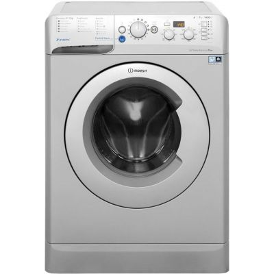 Indesit Innex BWD71453SUK 7Kg Washing Machine with 1400 rpm - Silver - A+++ Rated Best Price, Cheapest Prices