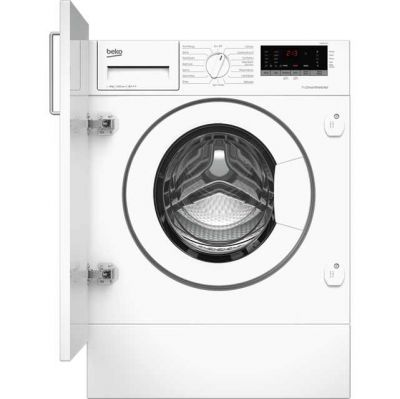 Beko WIR86540F1 Integrated 8Kg Washing Machine with 1600 rpm - A+++ Rated Best Price, Cheapest Prices
