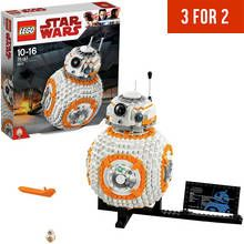 LEGO Star Wars BB8 Robot Toy Building Kit - 75187 Best Price, Cheapest Prices