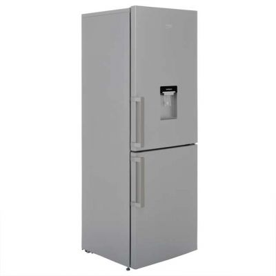 Beko CFP1675DS 60/40 Frost Free Fridge Freezer - Silver - A+ Rated Best Price, Cheapest Prices