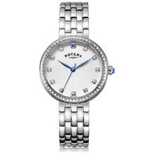 Rotary Ladies' Semi Precious Stone Set Stainless Steel Watch Best Price, Cheapest Prices
