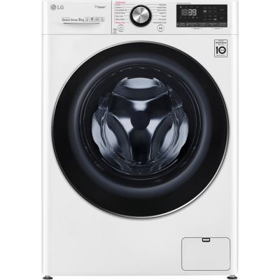 LG Vivace F4V909WTS Wifi Connected 9Kg Washing Machine with 1400 rpm - White - A+++ Rated Best Price, Cheapest Prices