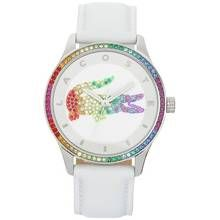 Lacoste Ladies' Victoria White Strap Watch Best Price, Cheapest Prices