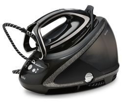 TEFAL Pro Express Ultimate + GV9610 High Pressure Steam Generator Iron - Black Best Price, Cheapest Prices