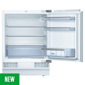 Bosch KUR15A50GB Integrated Under Counter Fridge - White Best Price, Cheapest Prices