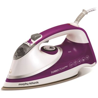 Morphy Richards Turbosteam 303126 3100 Watt Iron -White / Purple Best Price, Cheapest Prices