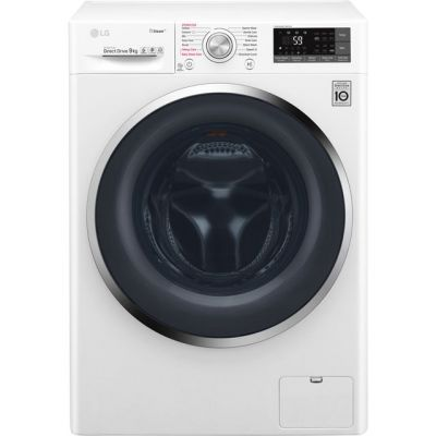 LG Steam™ F4J7VY2WD Wifi Connected 9Kg Washing Machine with 1400 rpm - White - A+++ Rated Best Price, Cheapest Prices