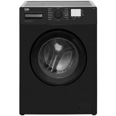 Beko WTG820M1B 8Kg Washing Machine with 1200 rpm - Black - A+++ Rated Best Price, Cheapest Prices