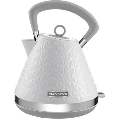 Morphy Richards Vector 108134 Kettle - White Best Price, Cheapest Prices