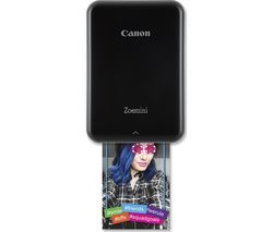 CANON Zoemini Mobile Photo Printer - Black Best Price, Cheapest Prices
