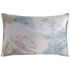 Karl Lagerfeld Flourish Pair of Housewife Pillowcases - Blue