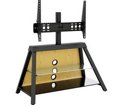 AVF Easel 925 mm TV Stand with Bracket - Black Best Price, Cheapest Prices