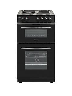 Swan SX15811B 50cm Wide Freestanding Twin Cavity Electric Cooker Best Price, Cheapest Prices