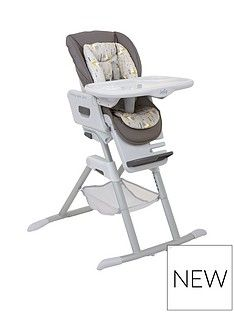 Joie Joie Mimzy Spin 3-in-1 Highchair Geometric Mountains Best Price, Cheapest Prices
