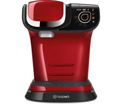 TASSIMO by Bosch My Way TAS6003GB Coffee Machine - Red Best Price, Cheapest Prices