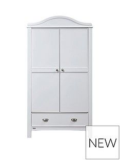 East Coast Toulouse Wardrobe - White Best Price, Cheapest Prices