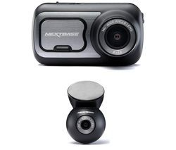 NEXTBASE 422GW Quad HD Dash Cam with Amazon Alexa & NBDVRS2RWC Quad HD Rear View Dash Cam Bundle Best Price, Cheapest Prices