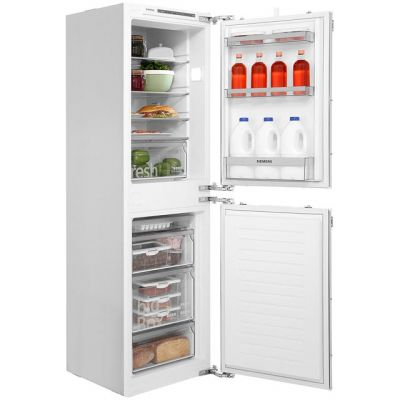 Siemens IQ-300 KI85VVF30G Integrated 50/50 Fridge Freezer with Fixed Door Fixing Kit - White - A++ Rated Best Price, Cheapest Prices