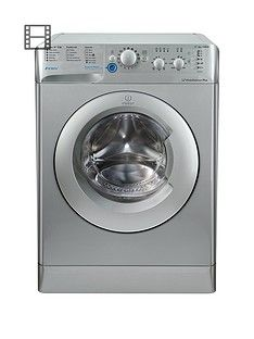 Indesit Innex BWC61452SUK 6kg Load, 1400 Spin Washing Machine - Silver Best Price, Cheapest Prices