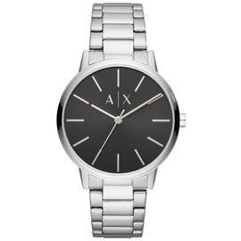 Armani Exchange Black Dial Stainless Steel Watch Best Price, Cheapest Prices