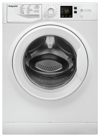 Hotpoint NSWM1043CW 10KG 1400 Spin Washing Machine - White Best Price, Cheapest Prices