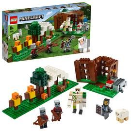 LEGO Minecraft The Pillager Outpost Building Set 21159 Best Price, Cheapest Prices
