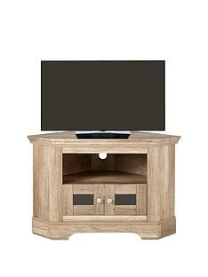 Ideal Home Wiltshire Corner TV Unit - fits up to 40 Inch TV Best Price, Cheapest Prices