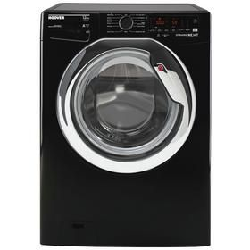 Hoover DWOA412AHC8B 1400 Spin 12KG Washing Machine - Black Best Price, Cheapest Prices