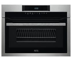 AEG KME761000M Built-in Combination Microwave - Stainless Steel Best Price, Cheapest Prices