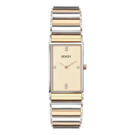 Seksy by Sekonda Ladies Two Tone Bracelet Watch Best Price, Cheapest Prices