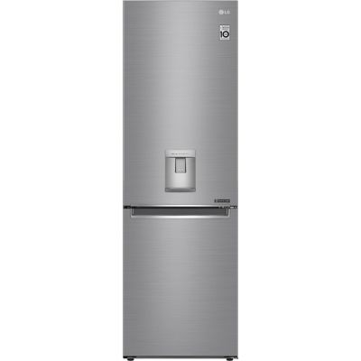 LG GBF61PZJZN 60/40 Frost Free Fridge Freezer - Steel - A++ Rated Best Price, Cheapest Prices