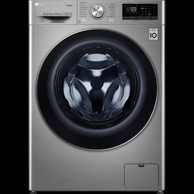 LG V7 F4V710STS Wifi Connected 10.5Kg Washing Machine with 1400 rpm - Graphite - A+++ Rated Best Price, Cheapest Prices