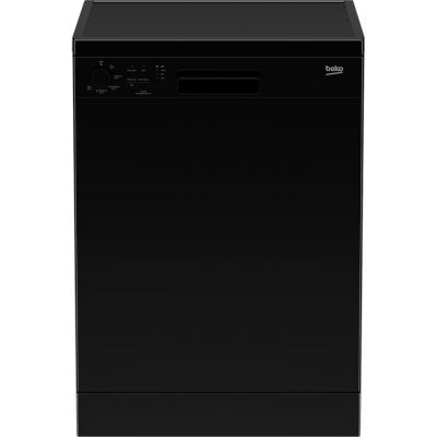 Beko DFN05R11B Standard Dishwasher - Black - A+ Rated Best Price, Cheapest Prices