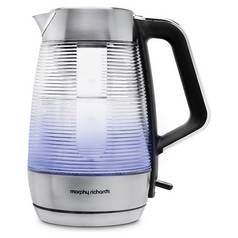 Morphy Richards 108010 Vetro Illuminated Kettle - Glass Best Price, Cheapest Prices