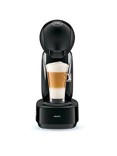 Krups NESCAFÉ® Dolce Gusto® Infinissima Manual Coffee Machine - Black Best Price, Cheapest Prices