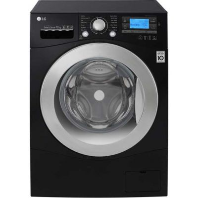 LG Direct Drive FH495BDN8 12Kg Washing Machine with 1400 rpm - Black - A+++ Rated Best Price, Cheapest Prices