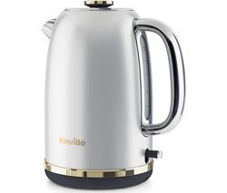 BREVILLE Mostra VKT139 Jug Kettle - Silver Best Price, Cheapest Prices