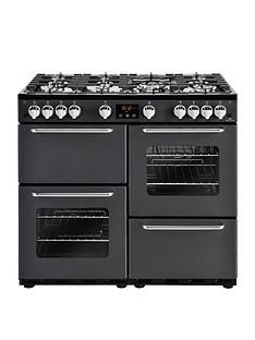 New World New World NW 100G 100cm Gas Range Cooker - Charcoal Best Price, Cheapest Prices