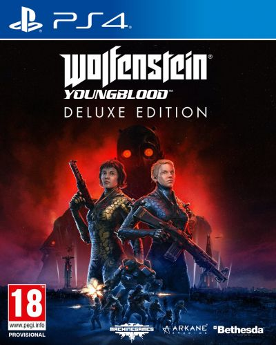 Wolfenstein Youngblood Deluxe Edition PS4 Game Best Price, Cheapest Prices