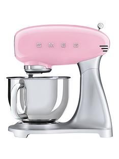 Smeg SMF02PK Stand Mixer - Pink Best Price, Cheapest Prices