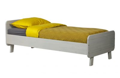 Woood Sammie Grey Bed Frame Best Price, Cheapest Prices