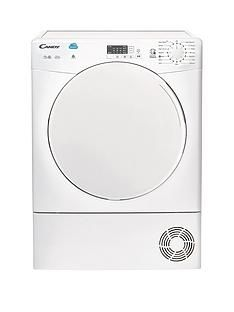 Candy CS C10LF 10kg Load Condenser Sensor Tumble Dryer with Smart Touch - White Best Price, Cheapest Prices