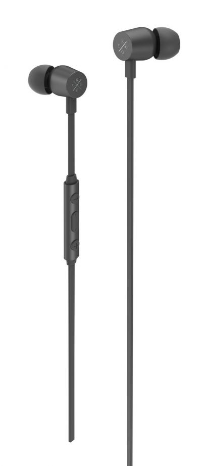 Kygo E2/400 In-Ear Wired Headphones - Black Best Price, Cheapest Prices
