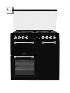 Leisure CC90F531K 90cm Chefmaster Dual Fuel Range Cooker with Optional Connection Best Price, Cheapest Prices