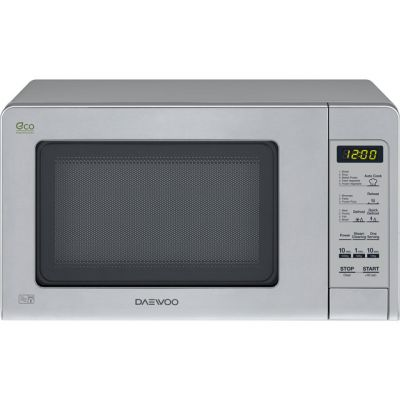 Daewoo KOR6M5R 20 Litre Microwave - Silver Best Price, Cheapest Prices